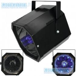 Eurolite lampada UV 50W lampadina + plafoniera black gun luce nera viola