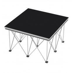 Showtec Pavimento per spider legs 1x1m elementi per palcoscenico piazza