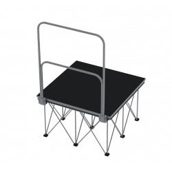 Showtec Spider Guardrail barriera protezione per spider legs stage elementi per palcoscenico piazza