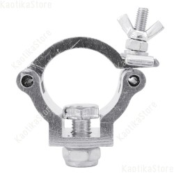 Eurolite DEC-30 gancio 35mm diametro coupler accoppiatore supporto luci truss tubolare