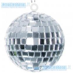 Sfera specchiata 5cm decorazione natale mini palla specchi vetro palletta