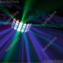 Eurolite MINI D-6 Hybrid Beam effect RGB + strobo effetto luce mini per discoteca