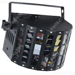 Showtec Energetic 3-in-1 luce led + strobo + laser controllabile in DMX e IR con telecomando incluso EAN 8717748444264