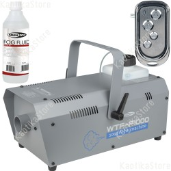61131 Showtec WTF-F1000 macchina del fumo 1000W Wireless senza filo ean 8717748466594 fog machine disco mobile discoteca dj luci