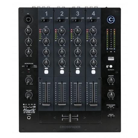 8717748335630 D2314 DAP CORE CLUB Mixer da DJ a 4 canali discoteca piano bar Bluetooth Selettore ingresso MP3 Telefono