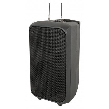 """DAP PSS-110 MKIII Impianto audio portatile, alimentato a batteria da 10"""" cassa attiva con microfono wireless"""