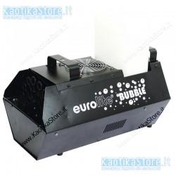 Eurolite Bubble machine 3L macchina per la produzione bolle di sapone per feste e party