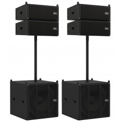 D3900SET01 ODIN T-8A Line-Array Satellite D3900 Audiosystems by Dap Audio EAN 8717748384737