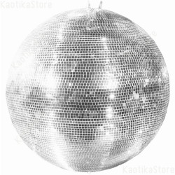 Sfera specchiata 100cm escluso motore specchi vetro mirror ball vintage anni '70 ean 4026397330182 Showtec 60410