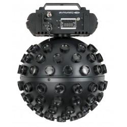 43163 Showtec Colourburst effetto luce discoteca palla sfera rotante vintage con laser rosso verde telecomando ean 8717748444288