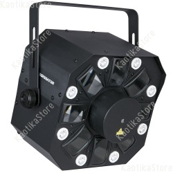 Showtec Dominator 3-in-1 luce led + laser + strobo 43153 Showtec Dominator 8717748334138