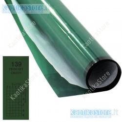 Gelatina VERDE PRIMARIO 61x50cm colore per fari PAR filtri colorati foglio colorato