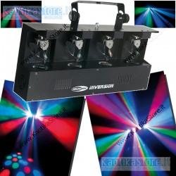 Showtec Inversion 4-scanner-1 luce led RGBA DMX