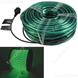 Eurolite Tubo luminoso 44 metri colore verde per esterni e interni