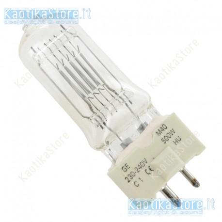 GE M40 240V/500W GY-9.5 2000h lampada ricambio