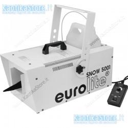 Eurolite Snow 5001 macchina effetto neve produzione fiocchi
