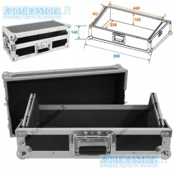 "Flightcase mixer 19"" 483mm 4HE"