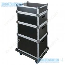 Dap Audio stack case baule impilabile per trasporto accessori e attrezzature audio luci