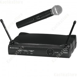 Omnitronic VHF-250 Wireless mic set 214 radiomicrofono