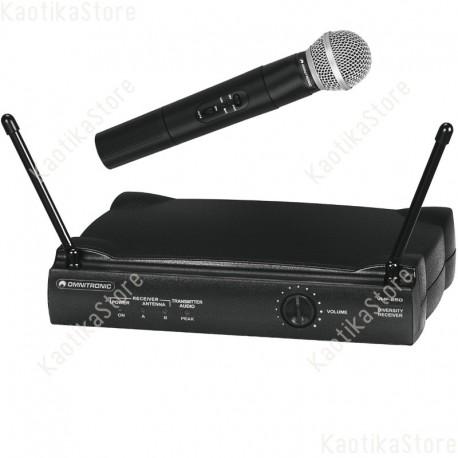 Omnitronic VHF-250 Wireless mic set 214 radiomicrofono