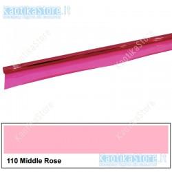 Gelatina ROSA MEDIO 122x50cm per fari PAR filtri colorati foglio colore