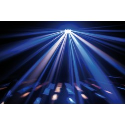 Showtec Techno Derby 2-in-1 luce led + strobo 43156 ean 8717748365989 luce discoteca derby strobo led rgb color