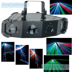 Showtec Blade Runner LED RGBW DMXM effetto luce discoteca per feste e party in pub locali ristoranti