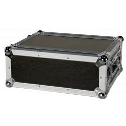 Showgear Compact Effect Case DoubleDoor Case 4HE 4 unità doppia porta per trasporto e protezione merce D7532B ean 8717748262233