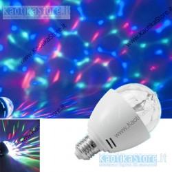 Omnilux LED BC-1 E-27 Beam effect RGB lampadina
