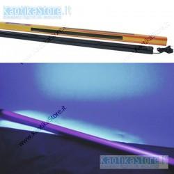 Eurolite Lampada UV 120cm con plafoniera slim ultravioletti party fluo