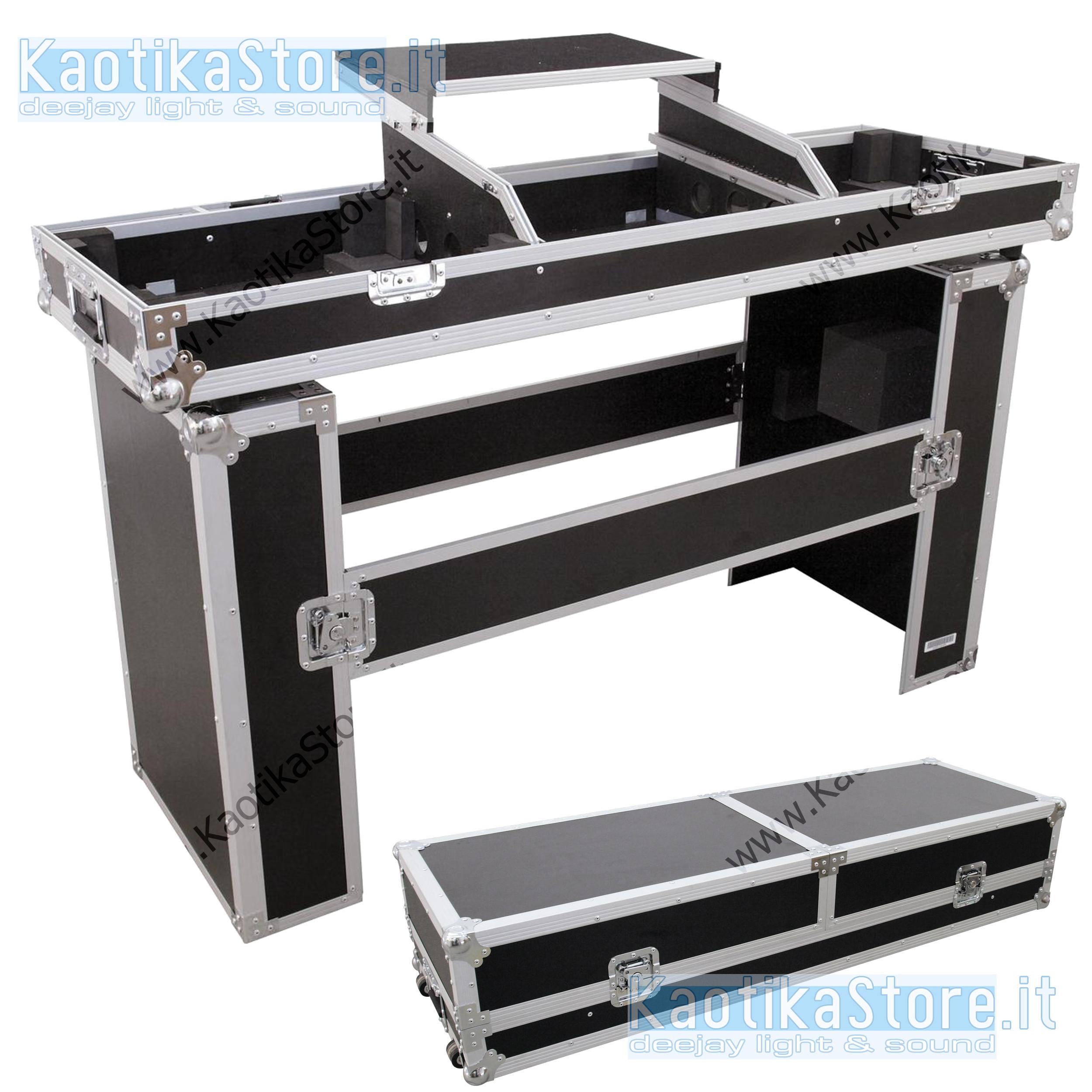 Mobili Porta Computer Prezzo.Flightcase Mobile Dj Valigia Trasporto Consolle Cdj Piatti Mixer