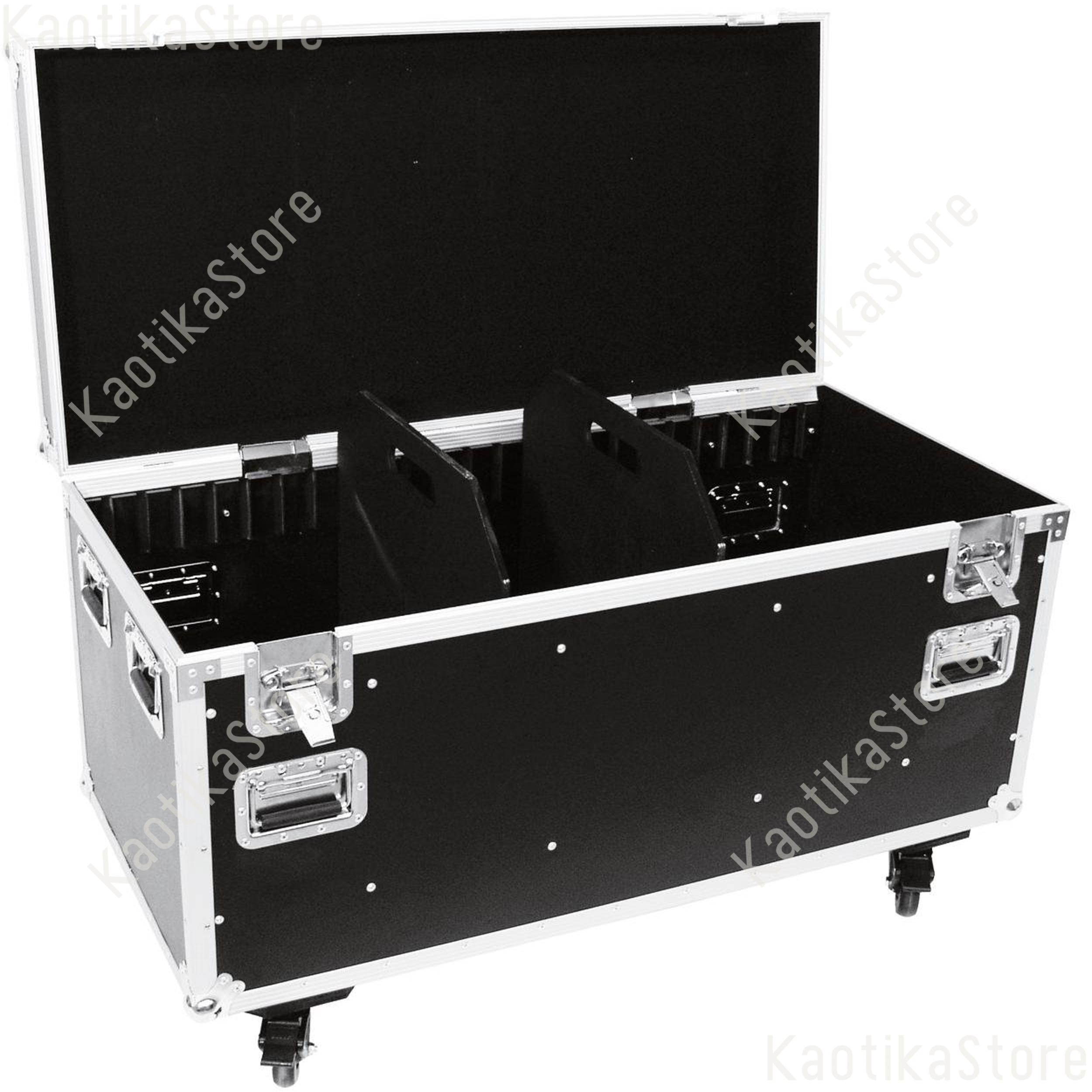 flightcase per trasporto con ruote 1250x600x780mm baule. Black Bedroom Furniture Sets. Home Design Ideas