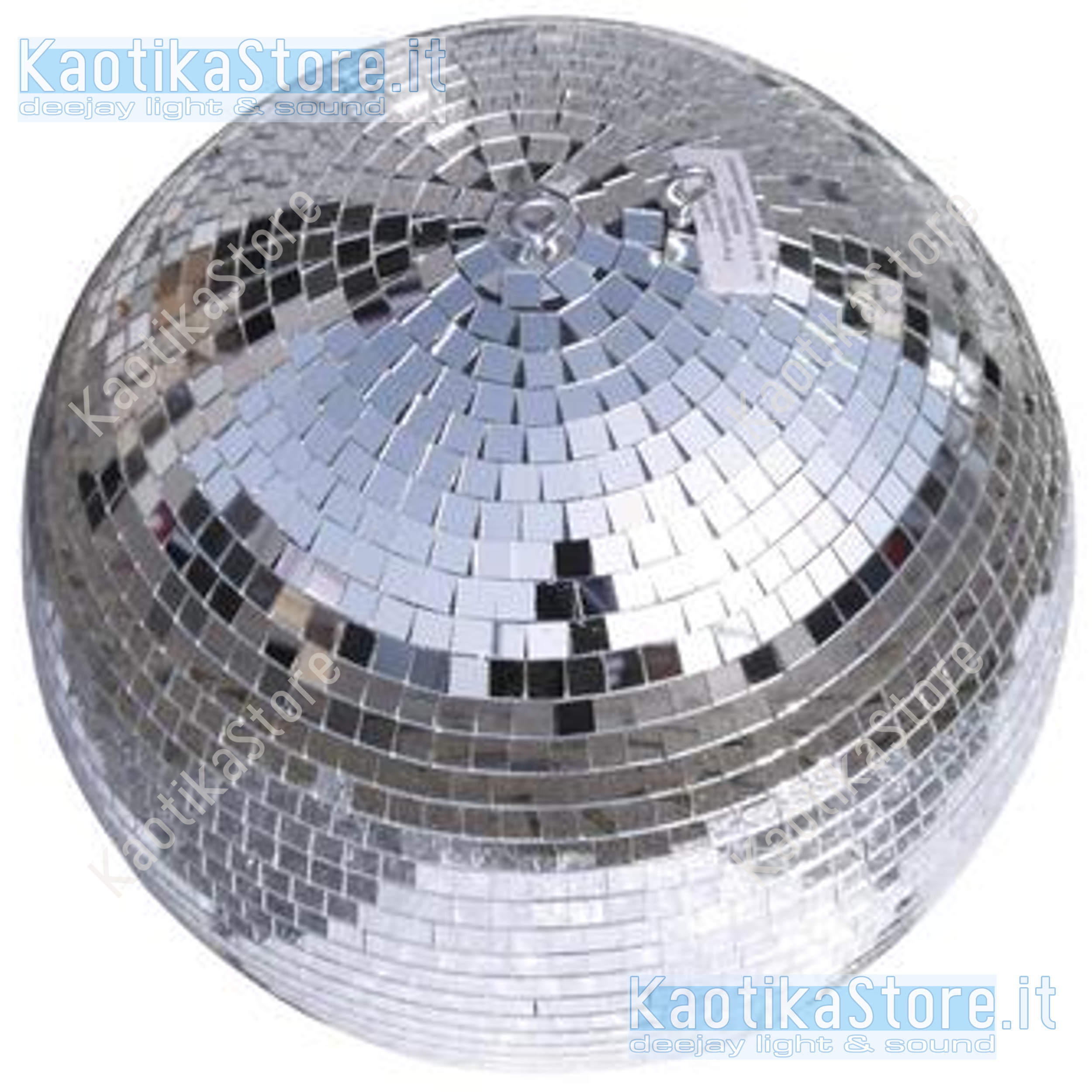 Luci Da Discoteca Fai Da Te.Palla 40 Cm Motore Per Discoteca Sfera Vetri Specchi Feste Luce