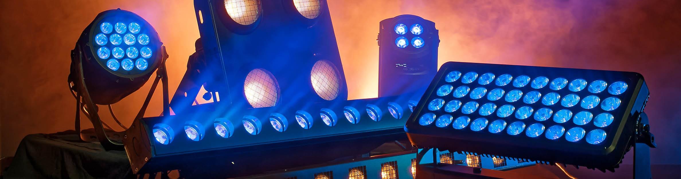 Showtec: illuminazione per l'intrattenimento ed effetti scenici